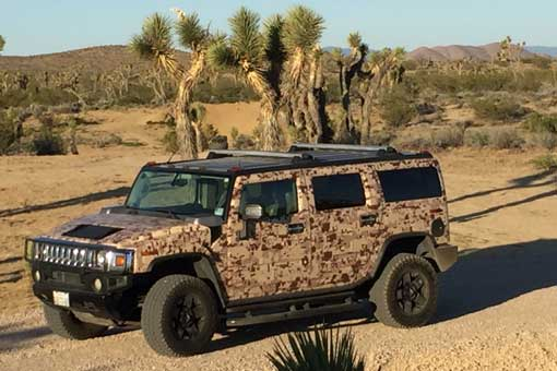 SB Cigar goes desert with full camo wrap